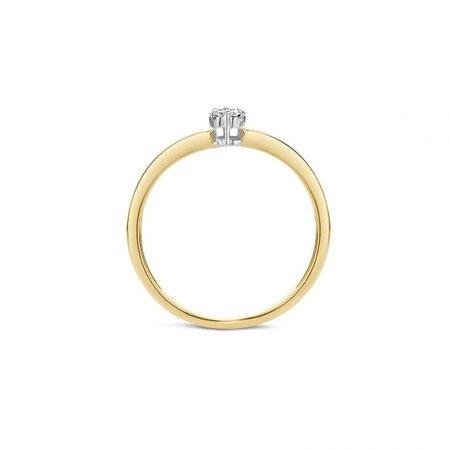 Blush Blush Ring 14k bicolor goud met diamant 1623BDI