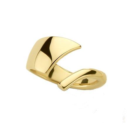 NOL sieraden NOL 14k geelgouden ring AU04106
