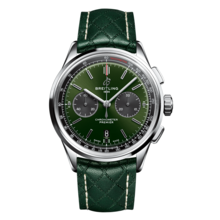 Breitling BREITLING Premier B01 Chronograph 42 Bentley British Racing Green AB0118A11L1X1
