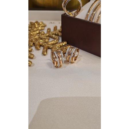 AL CORO AL CORO Serenata ring rosegoud 18k met 0,45ct briljant R6405R