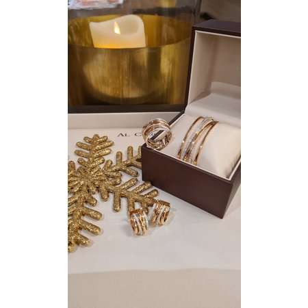 AL CORO AL CORO Serenata armband rosegoud 18k met 1.42ct briljant NB1074R