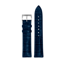 MeisterSinger MEISTERSINGER horlogeband 20MM Blauw SG04