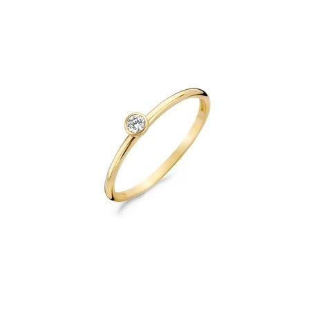Blush Blush ring 14k Geelgoud met zirconia 1198YZI/54