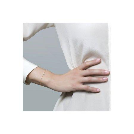 Blush Blush armband 14krt  geelgoud met zirkonia chatonzetting 2166YZI