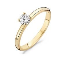 Blush Blush ring 14k geelgoud met zirkonia 4.5mm 1133YZI