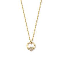Mrs.Janssen MRS.Janssen Collier geelgoud 14k met diamant 0.09ct HSI 608072