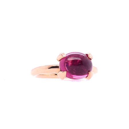 Bron BRON Ring Catch 18k Roségoud met roze toermalijn 8RR4812RTC