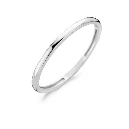Blush Blush ring 14k witgoud glad 1197WGO/54