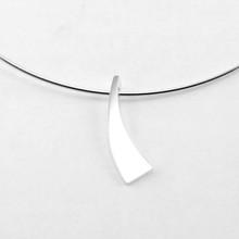 NOL sieraden NOL zilveren Omega collier met Hanger AG07306