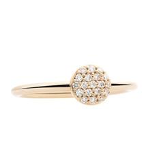 Bron BRON Ring Stardust Mini 18k Geelgoud met diamant 8RG4850BR