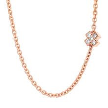 Bron BRON Collier Joy Roségoud 18k met diamant 0.10ct G/VVS-1 8CR440145BR