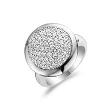 Ti Sento Ti Sento Ring Zilver gerhodineerd met zirkonia's 1914ZI maat 56