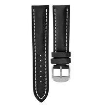 Breitling Breitling horlogeband 22MM Zwart Kalfsleer met gesp 493X
