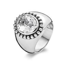 Ti Sento Ti Sento Ring Zilver gerhodineerd met zirkonia 1813ZI maat 56