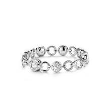 Ti Sento Ti Sento gerhodineerde zilveren armband met zirkonia 2649ZI 19cm