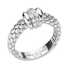 Fope FOPE Ring Flex-It Solo 18k witgoud AN654 BBR
