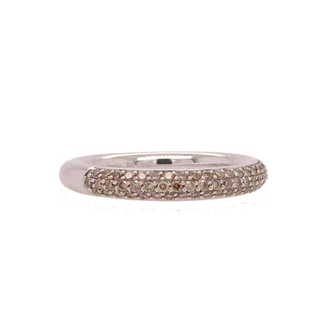 Bron BRON Ring stax 3.3mm 18k witgoud Champagne diamant 0.55ct 6RW4774CBR