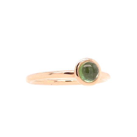 Bron BRON Ring Sushi Mini 18k Roségoud met groene tourmalijn 8RR4851GTC