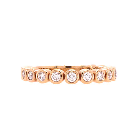 Bron BRON Ring Confetti 18k Roségoud met witte diamant 8RR4713BR
