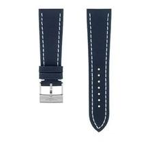 Breitling Breitling horlogeband 24MM blauw Military kalfsleer met gesp 637X