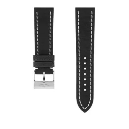 Breitling Breitling horlogeband 22MM Zwart Military Kalfsleer zonder gesp  521X