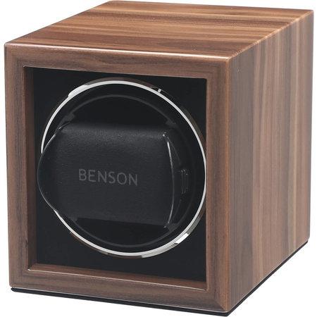Benson Benson Watchwinder Compact Single 1.Was Hout voor 1 Horloge