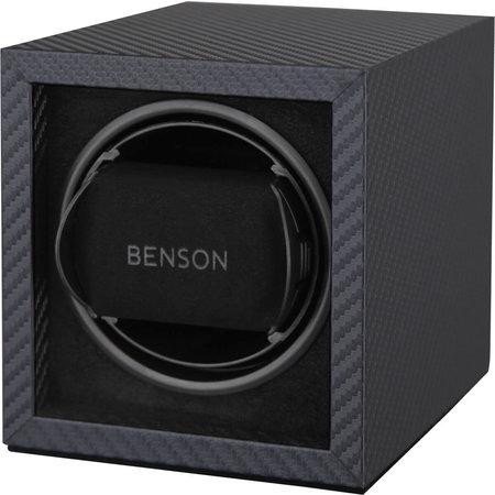 Benson Benson Watchwinder Compact Single 1.17CF Carbon voor 1 Horloge
