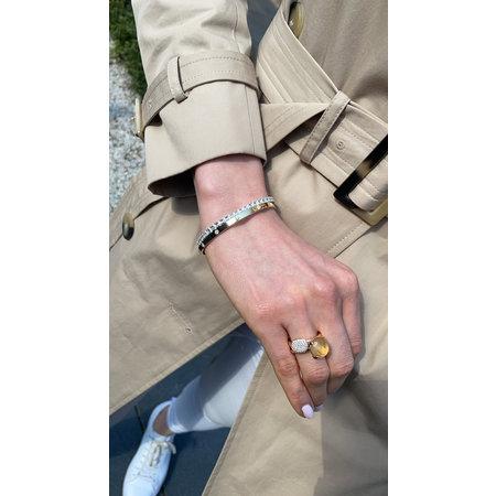 Bron BRON Ring Catch Roségoud 18k met Citrien 12mm 8RR4783CIR