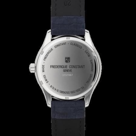 Frederique Constant FREDERIQUE CONSTANT Classics Gents Quartz GMT 40mm FC-252NS5B6