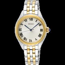 Seiko Seiko dames Horloge staal / goudkleurig SUR330P1