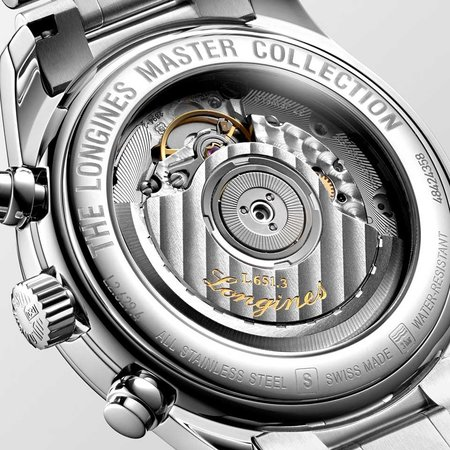 Longines LONGINES Master Chronograph Gents 40mm Automatic L2.629.4.92.6