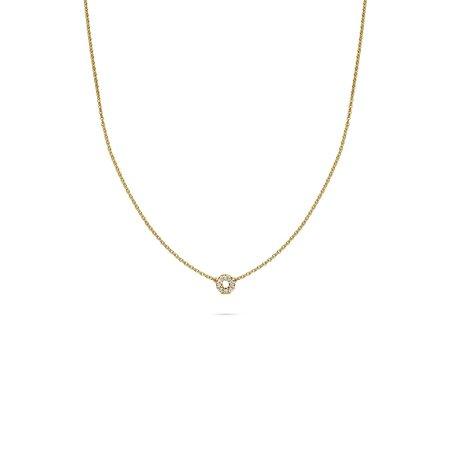 MissSpring Miss Spring Collier MSC645 Joy 14krt geelgoud met 0.07ct diamant 608663