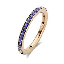 Tirisi Moda TIRISI Ring 18k Geelgoud met Blauw Saffier TR1115LS-2T