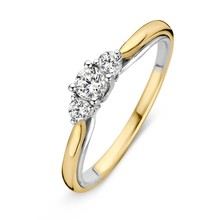 HuisCollectie HuisCollectie Ring 14k goud briljant 0.31crt H/SI 608893