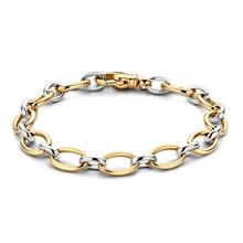 HuisCollectie HuisCollectie Armband 14k Bicolor goud 609085
