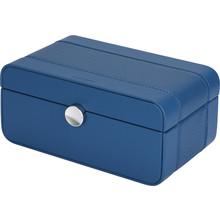 Benson Benson  Black Series blauwe horlogebox voor 3 horloges