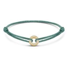 Minitials Minitials One Benji Diamond Geelgoud Satin Bracelet