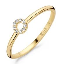 Blush Blush Ring 14k geelgoud met zirkonia 1217YZI-54