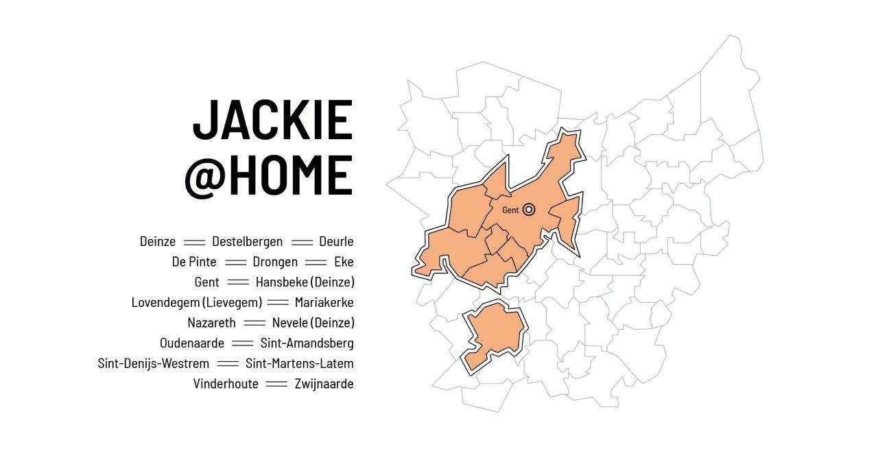 Kinderschoenen aan huis - Jackie @home