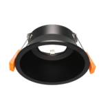 Spot encastré noir 100mm diamètre GU10