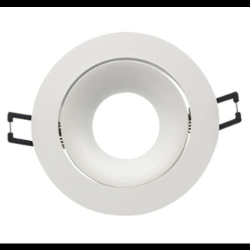 Spot encastrable diamètre 85 mm blanc design GU10