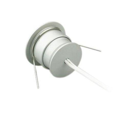 Mini LED spot inbouw 4W 30mm zaagmaat wit of grijs