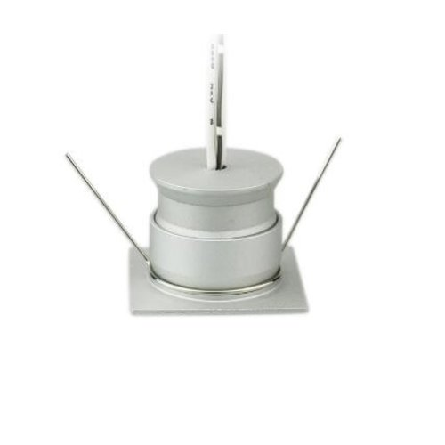 Mini LED encastrable 4W scie 30mm carré gris