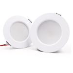 Inbouwspot 10 cm diameter LED 9W wit