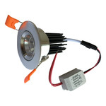 Spot encastrable diamètre percage 55 mm 5W LED faible hauteur