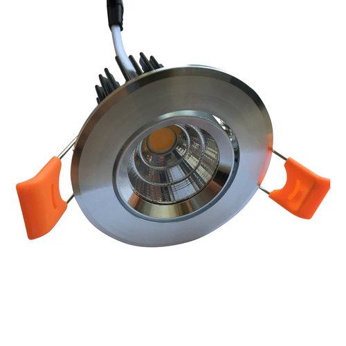 Inbouwspot 55mm zaagmaat 5W LED grijs ondiep