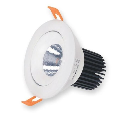 Spot LED encastrable percage 55 mm 5W ou 7W blanc orientable dimmable