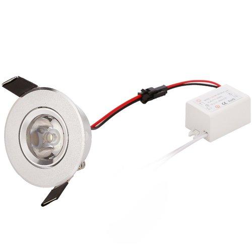 Spot encastrable perçage 60 mm LED 3W faible hauteur