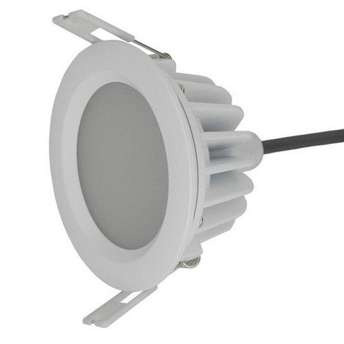 Spot LED encastrable extérieur IP65 sans trafo 12W diamètre 110 mm