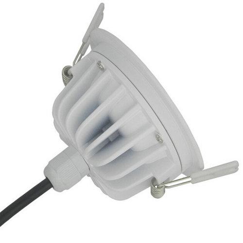 Waterdichte spot badkamer IP65 driverless 12W 95mm zaagmaat